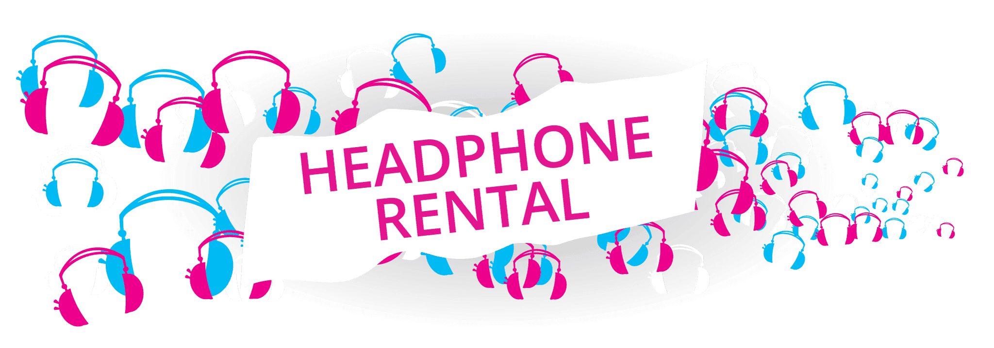 Plug & Play Silent Disco Headphones Rentals